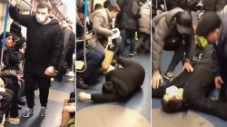 Blogger arrested after brutal coronavirus prank on Moscow subway / VIDEO